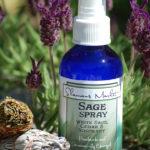 White Sage Smudging Spray www.reikishamanic.com