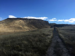 Rose De Dan walks to Buffalo Jump, ©Rose De Dan www.reikishamanic.com