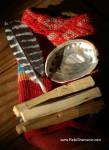 Mini Palo Santo Wood Travel Smudge Kit, ©Rose De Dan www.ReikiShamanic.com