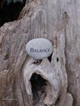 Balance Stone, ©Rose De Dan www.ReikiShamanic.com